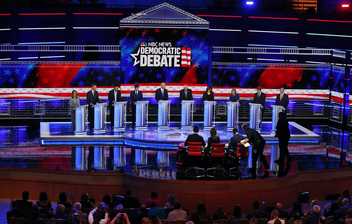 Westlake Legal Group AP19179047846538 Illegal immigrants should get health care, say Dems in Night 2 debate Louis Casiano fox-news/us/immigration/illegal-immigrants fox-news/politics/regulation/health-care fox-news/politics/elections/democrats fox-news/politics/2020-presidential-election fox news fnc/politics fnc article 367f6168-62df-5edd-a56b-95c8143ec361