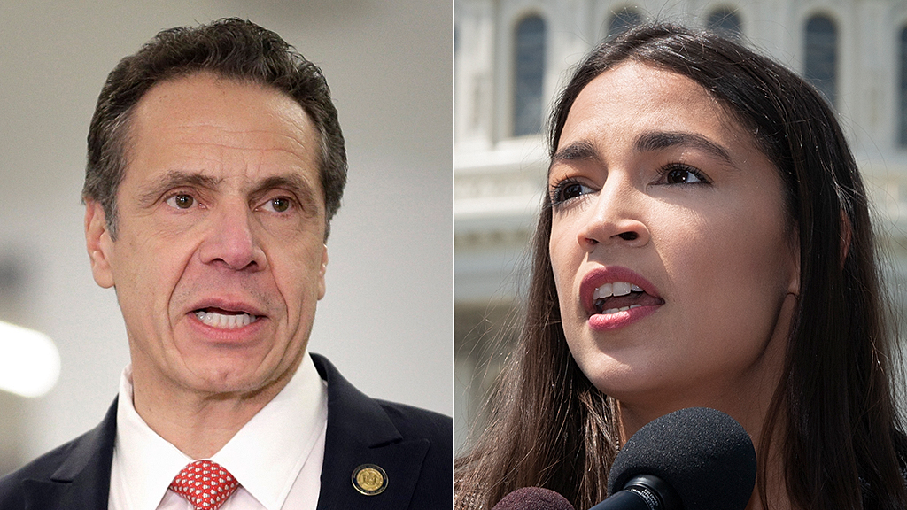 Westlake Legal Group Andrew-Cuomo-AOC-AP Gov. Cuomo warns low turnout allows AOC's chosen candidate to win District Attorney race Sam Dorman fox-news/politics/elections/democrats fox-news/person/andrew-cuomo fox-news/person/alexandria-ocasio-cortez fox news fnc/politics fnc f6bbaa83-1672-5e49-81c8-6d939c0b412f article