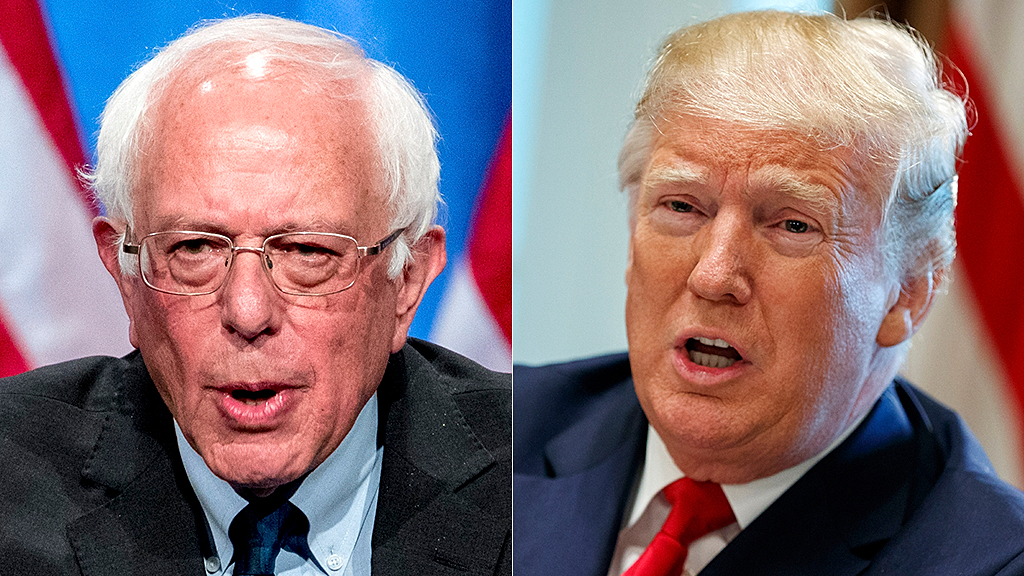 Trump congratulates Sanders on Nevada caucuses: