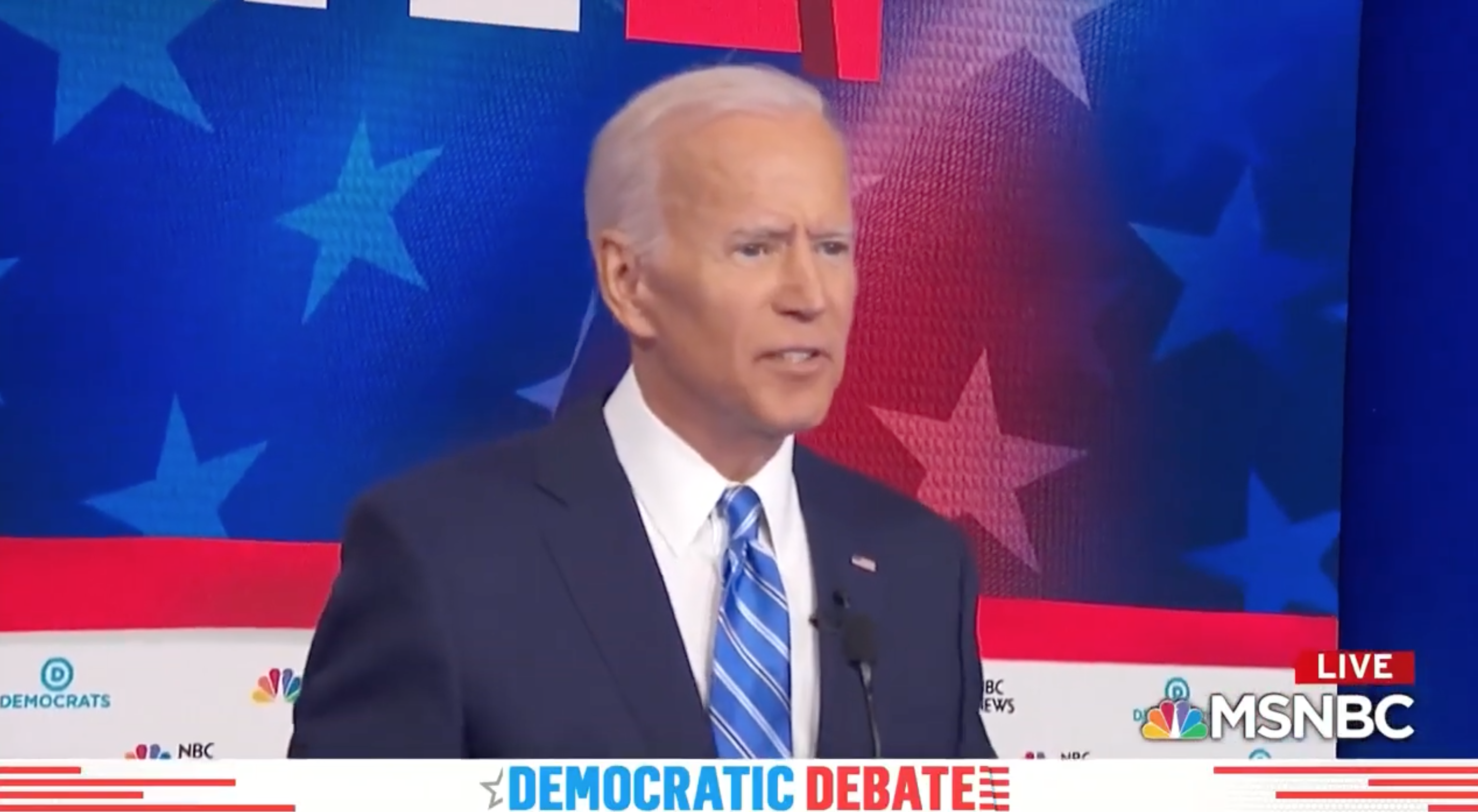 Westlake Legal Group Biden 'My time's up, I'm sorry': Biden abruptly ends answer on civil rights record after Harris pummeling Lukas Mikelionis fox-news/politics/2020-presidential-election fox-news/person/kamala-harris fox-news/person/joe-biden fox news fnc/politics fnc c487efb0-b160-52e9-948d-ce2f43541c0b article