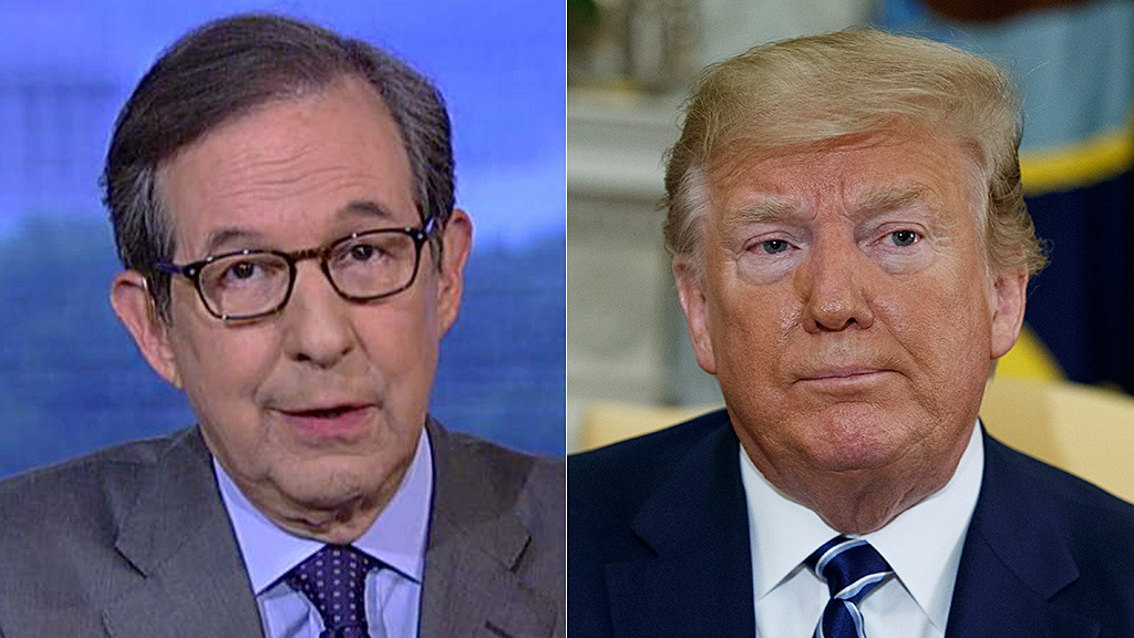 Westlake Legal Group Chris-Wallace-Donald-Trump-FOX-AP Chris Wallace on Trump's Iran strike reversal: There are 'costs to inaction,' just like Obama's Syria red line fox-news/world/conflicts/iran fox-news/topic/fox-news-flash fox-news/shows/americas-newsroom fox-news/entertainment/media fox news fnc/politics fnc David Montanaro article acfb9254-7aa7-527d-9f66-d2fe0bc37433