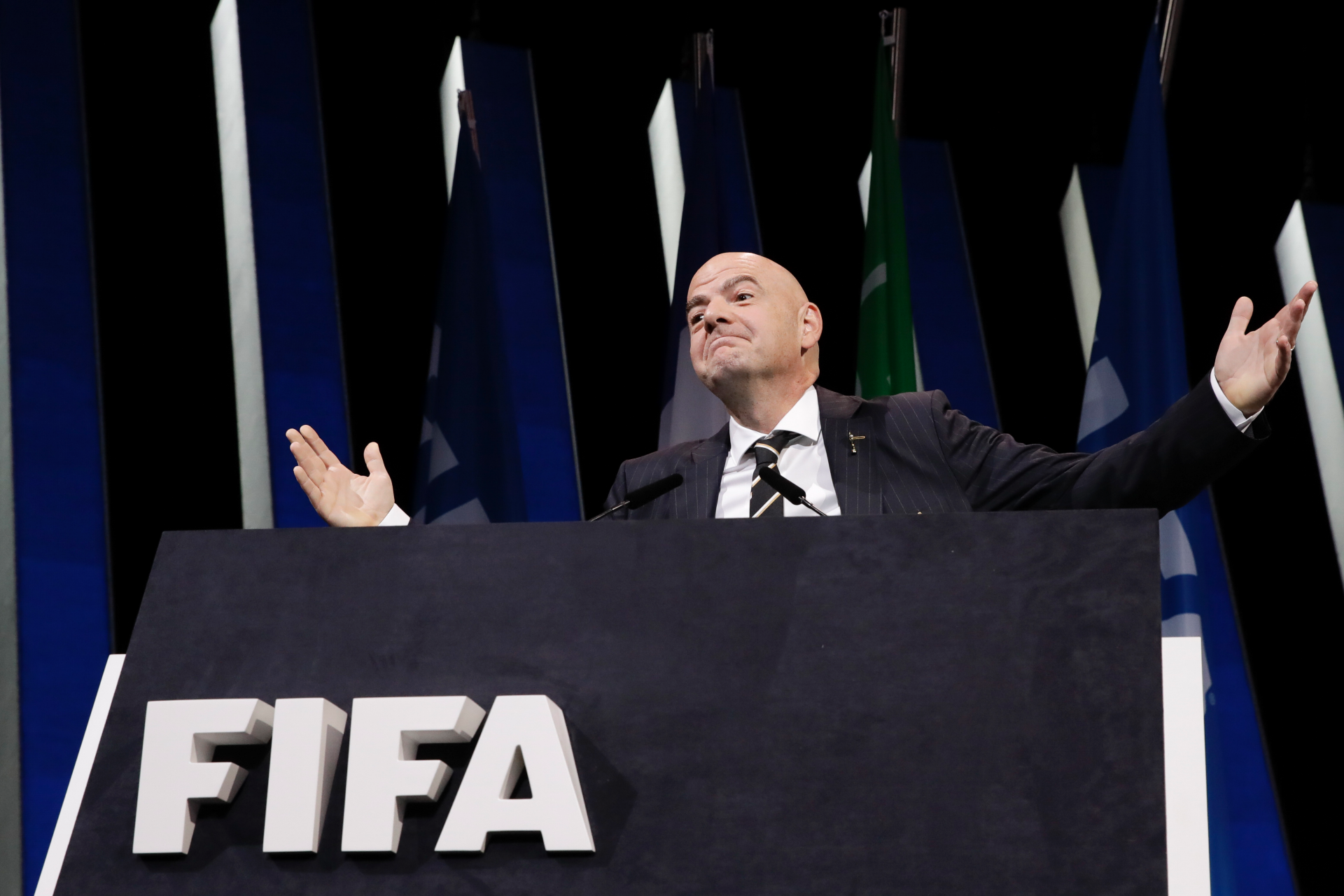 Westlake Legal Group ContentBroker_contentid-22a09f9d732a4321890263f8192f6315-1 Infantino says FIFA scandals gone, despite corruption cases ROB HARRIS and GRAHAM DUNBAR fox-news/world/world-regions/europe fox-news/world fnc/world fnc bc6aacdd-3786-547b-9bf3-82c6cba963a5 Associated Press article