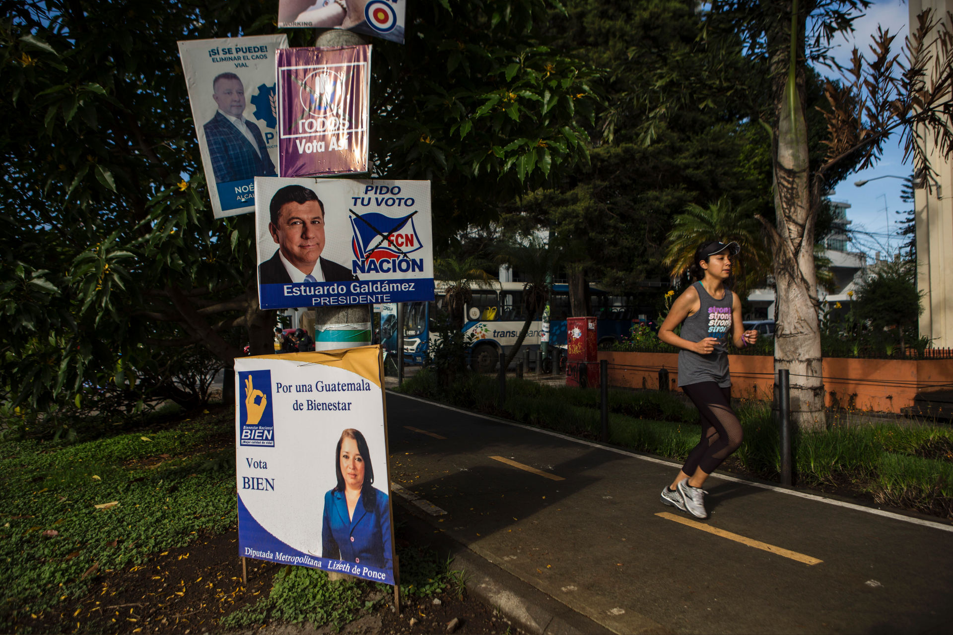 Top contenders for president in Guatemala election