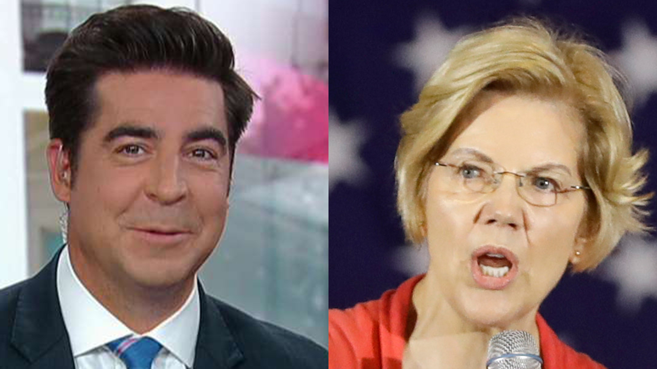 photo image Jesse Watters: Democratic debate lineups put Elizabeth Warren in unique spot