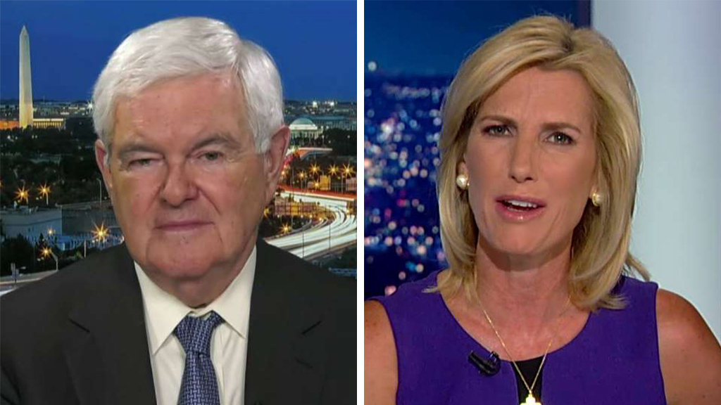 Westlake Legal Group Gingrich-Ingraham_FOX Newt Gingrich on anti-American sentiment: 'The number of lies' from the left is 'astonishing' fox-news/topic/fox-news-flash fox-news/shows/ingraham-angle fox-news/politics/elections/democrats fox-news/politics/2020-presidential-election fox-news/person/donald-trump fox-news/person/cory-booker fox-news/person/andrew-cuomo fox-news/entertainment/media fox news fnc/politics fnc Charles Creitz ca88e010-004d-5cc1-85cb-67a191e0e397 article