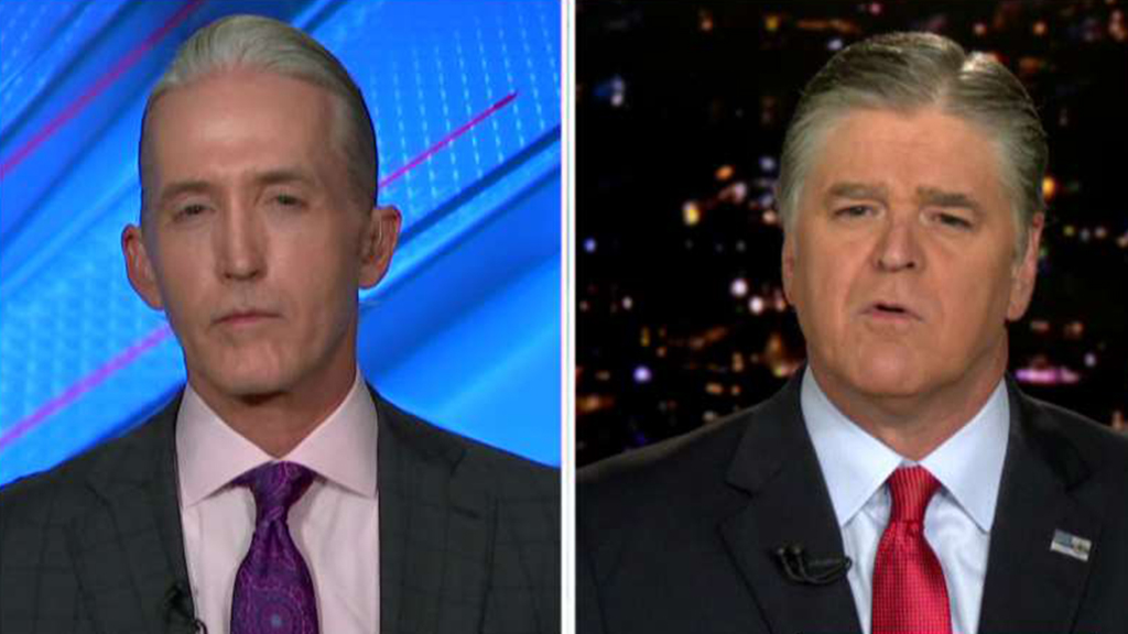 Westlake Legal Group Gowdy-Hannity_FOX Trey Gowdy on impeachment: 'There is no mathematical way' Trump will be convicted and Democrats know it Victor Garcia fox-news/topic/fox-news-flash fox-news/shows/hannity fox-news/politics/trump-impeachment-inquiry fox-news/person/nancy-pelosi fox-news/media fox news fnc/media fnc article 983ca692-3bf7-5ca0-a8e7-ac940953fc7b