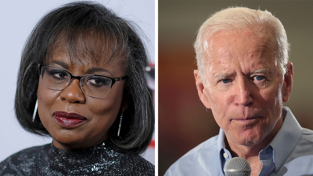 Anita Hill says 'of course I could' vote for Joe Biden in 2020, despite bitter history