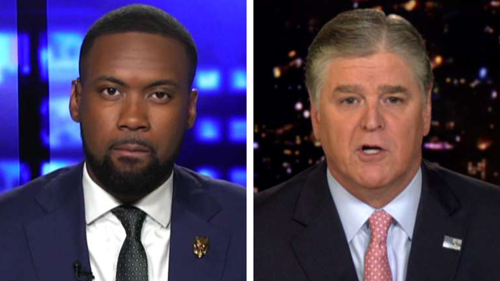 Westlake Legal Group Jones-Hannity_FOX Lawrence Jones reacts to racist comments at 'Impeach Trump' rally: 'This is who these people are' fox-news/us/us-regions/northeast/new-york fox-news/topic/fox-news-flash fox-news/politics fox-news/entertainment/media fox news fnc/entertainment fnc Charles Creitz b389fde9-9074-5e7b-b236-f6ebd4603dd8 article