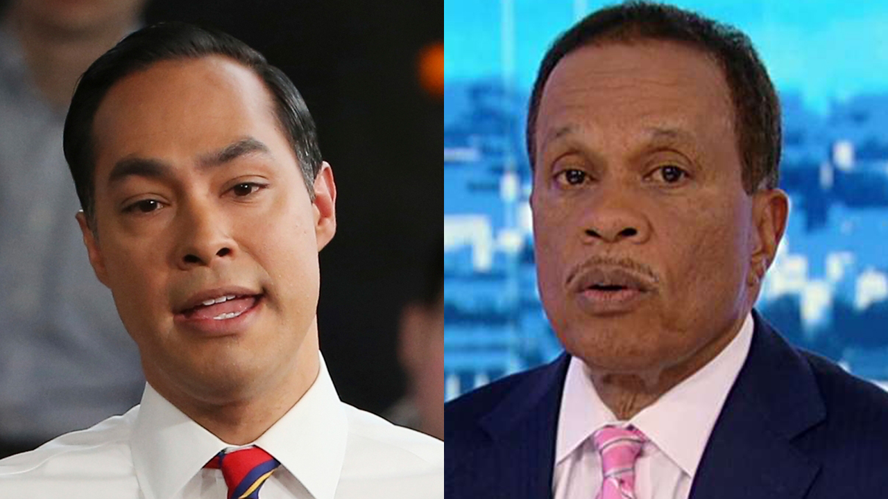 Westlake Legal Group Julian-Castro-split Juan Williams: Julian Castro 'the breakout star' of first 2020 Dem debate night fox-news/us/us-regions/southwest/texas fox-news/us/immigration fox-news/topic/fox-news-flash fox-news/politics/elections/democrats fox-news/politics/2020-presidential-election fox-news/entertainment/media fox news fnc/politics fnc Charles Creitz article 4facd600-bb3f-59f3-8dbf-30e41c36741f