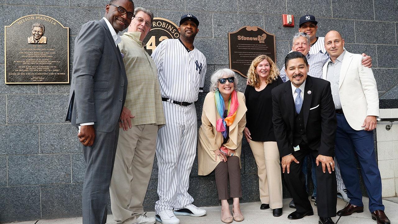 Yankees unveil plaque commemorating Stonewall Inn uprising