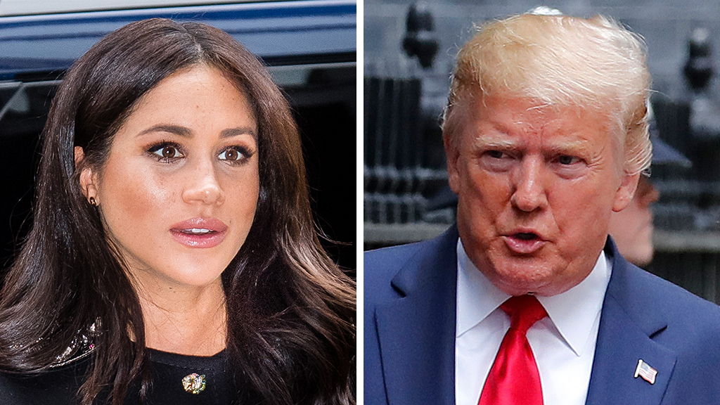 Trump opens up on reported 'nasty' comment about Meghan Markle