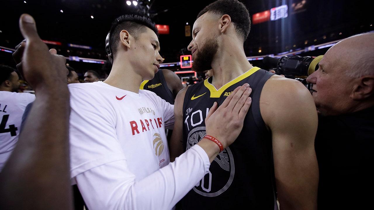 Westlake Legal Group NBA-Jeremy-Lin Jeremy Lin makes history as Toronto Raptors win first NBA title Ryan Gaydos fox-news/sports/nba/toronto-raptors fox-news/sports/nba-playoffs fox-news/sports/nba fox news fnc/sports fnc article 3a465eec-25a3-52f8-b3bb-982a1cac42ec