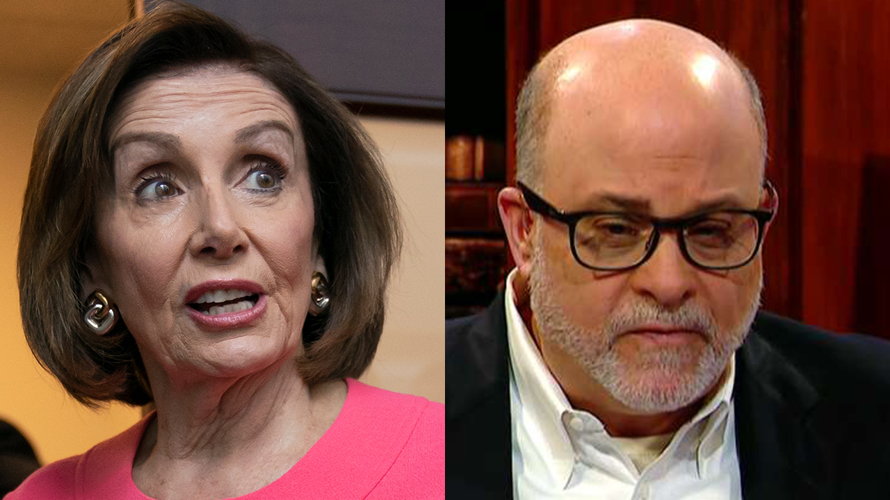 Mark Levin rails against Nancy Pelosi for declaring Trump a criminal: Democrats 'totally out of control'