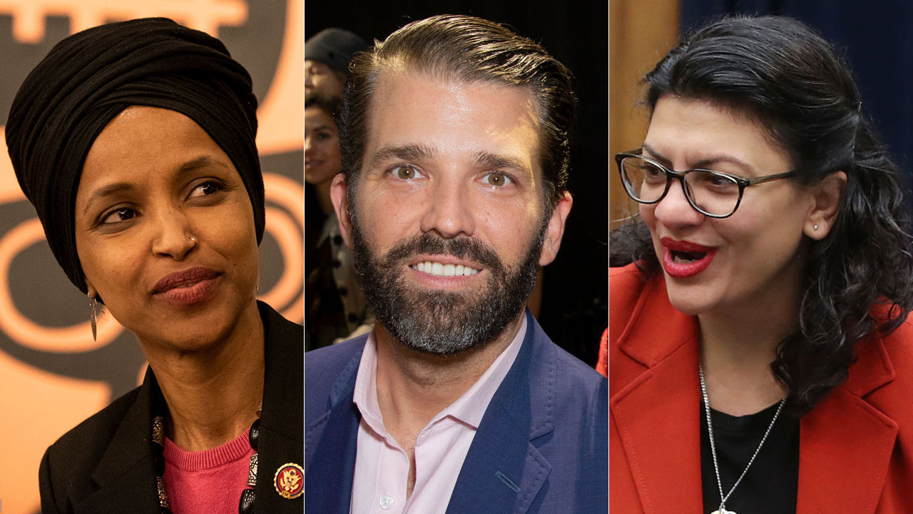 Trump Jr. blasts Omar, Tlaib on Twitter as leaders of 'the Hamas Caucus'