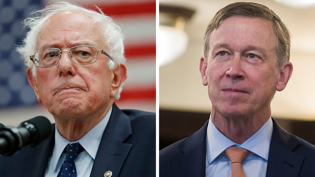Westlake Legal Group Sanders-Hickenlooper_AP Hickenlooper dings fellow Dems, says he raises less money because he won't 'promise free stuff' Sam Dorman fox-news/politics/elections/democrats fox-news/politics/2020-presidential-election fox-news/entertainment/media fox news fnc/politics fnc article 50749636-a8a0-5a68-a23c-4fed4e448088