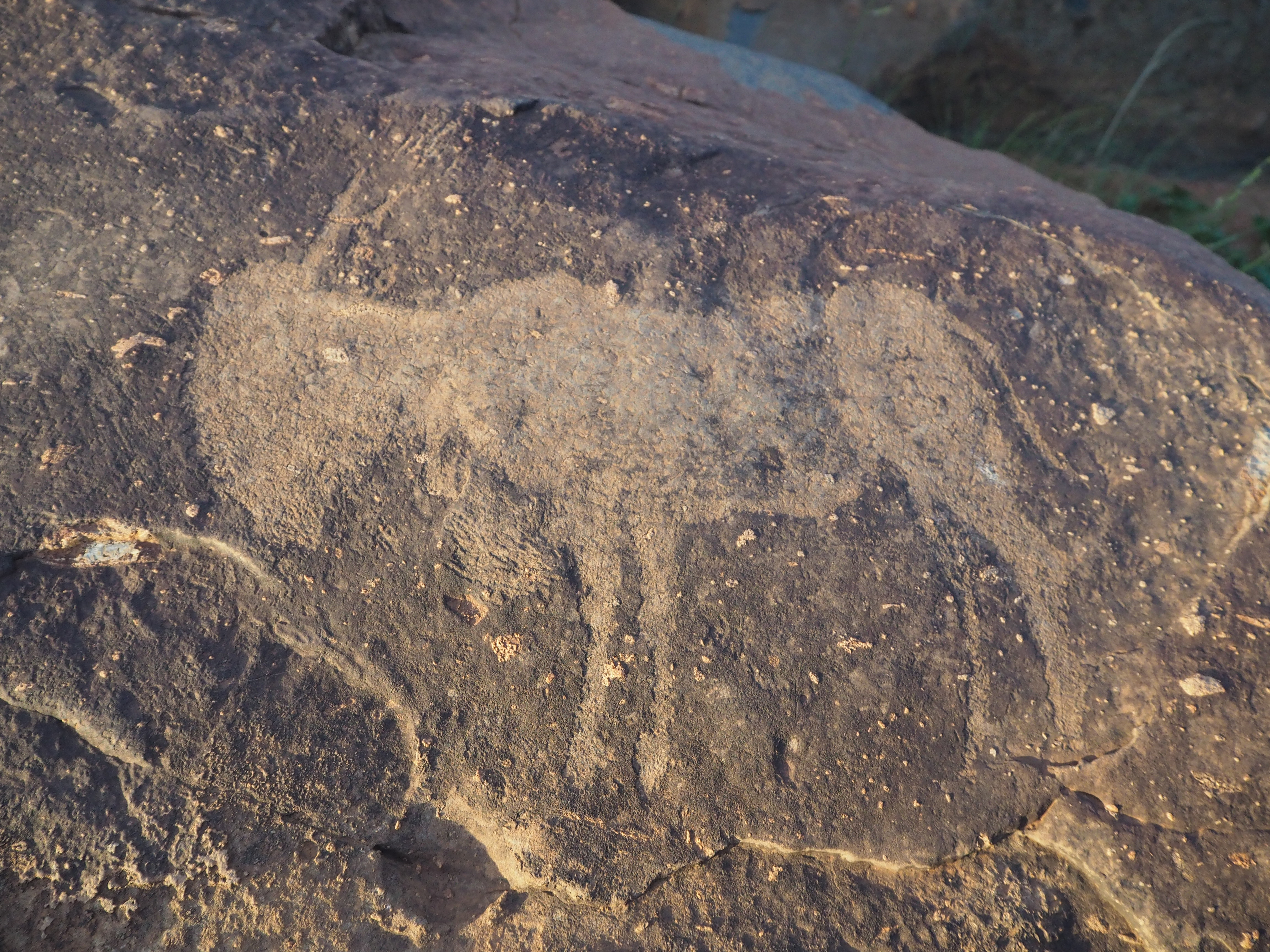 Mysterious prehistoric rock carvings discovered in world's largest asteroid crater