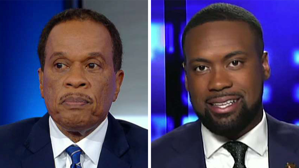 Juan Williams: Anti-Trump protesters targeting Lawrence Jones with racist abuse an example of 'intolerance coming from the left'