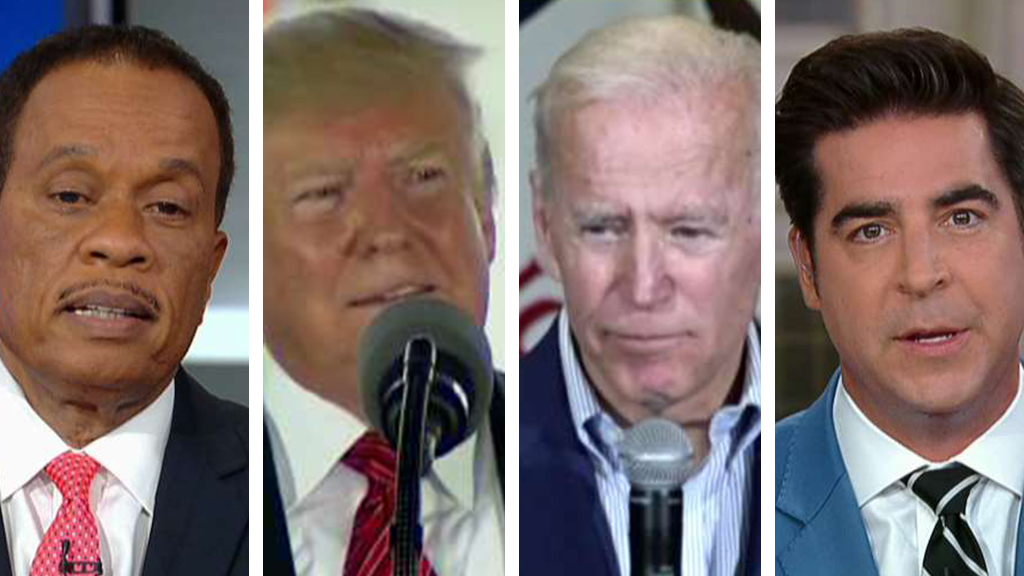 Westlake Legal Group Williams-Trump-Biden-Jesse-FOX Who 'unsettled' who? Jesse Watters and Juan Williams disagree on Trump and Biden's verbal sparring Victor Garcia fox-news/topic/fox-news-flash fox-news/shows/the-five fox-news/politics/2020-presidential-election fox-news/person/joe-biden fox-news/person/donald-trump fox-news/entertainment/media fox news fnc/politics fnc article 84841f0a-70f9-5235-b5b0-6bf459aba5fe