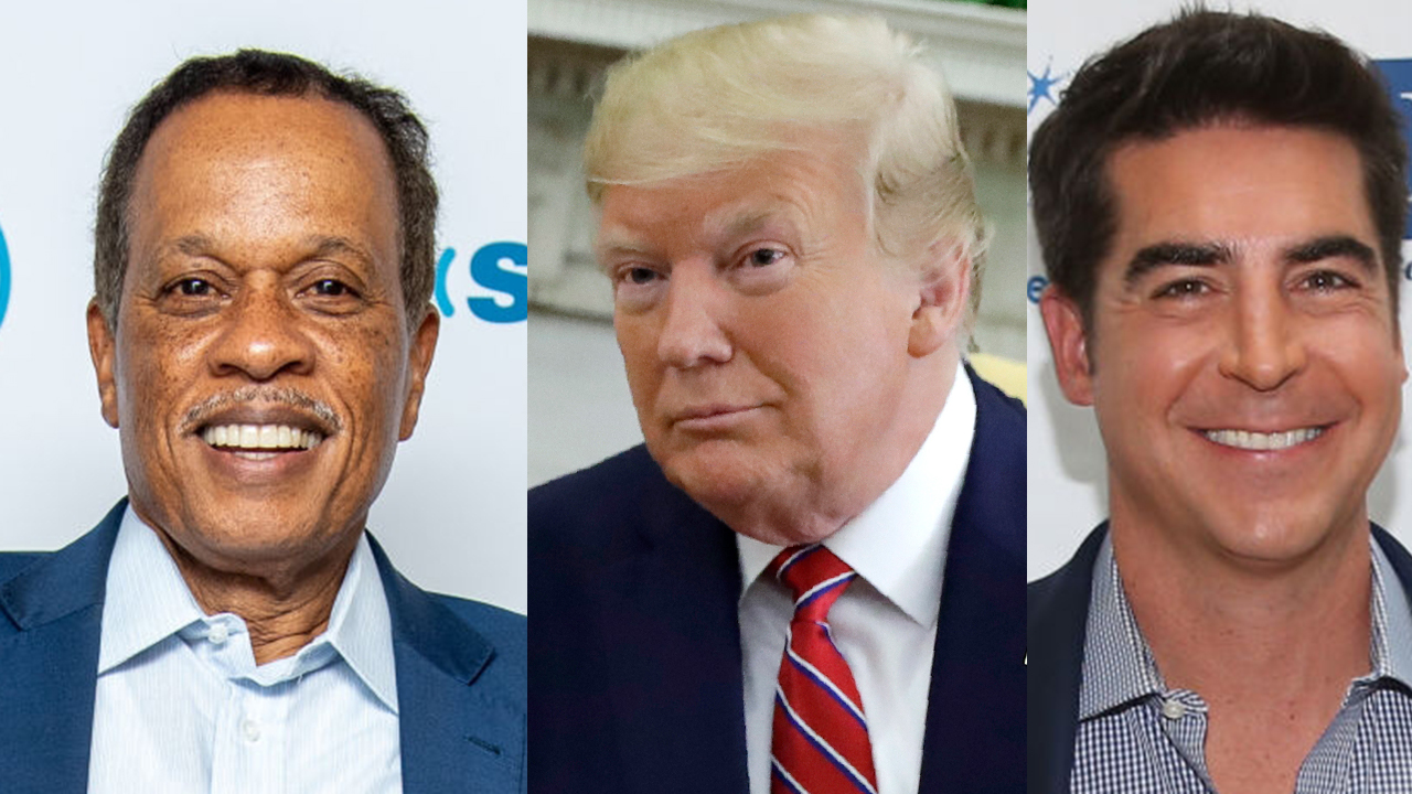 Juan Williams and Jesse Watters debate Trump 'backpedalling'