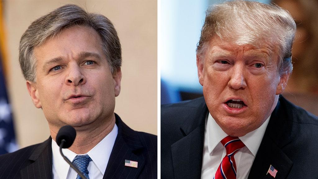 FBI director Wray 'deeply regrets' FISA court errors in Trump-Russia probe