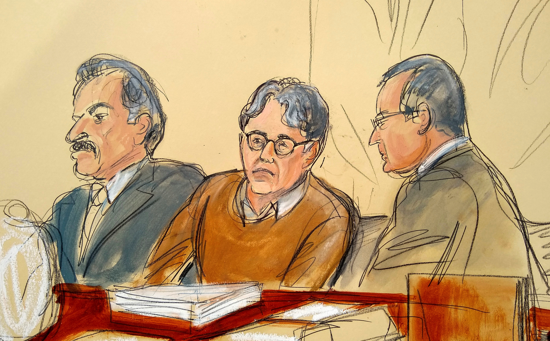 Closing arguments at trial of self-improvement group founder