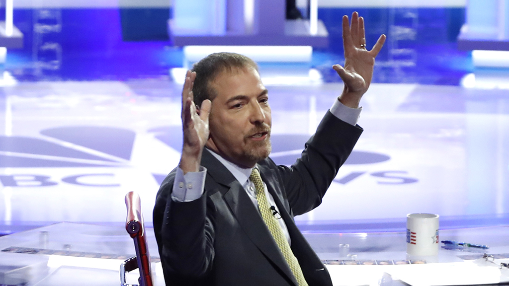 Pressure on NBC News' Chuck Todd not to 'muck up another debate' following previous performance - fox