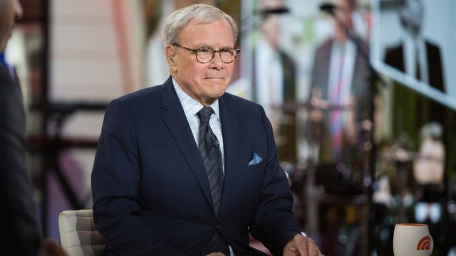 NBC's Tom Brokaw says he's 'very, very fortunate' after fire erupts in his NYC building