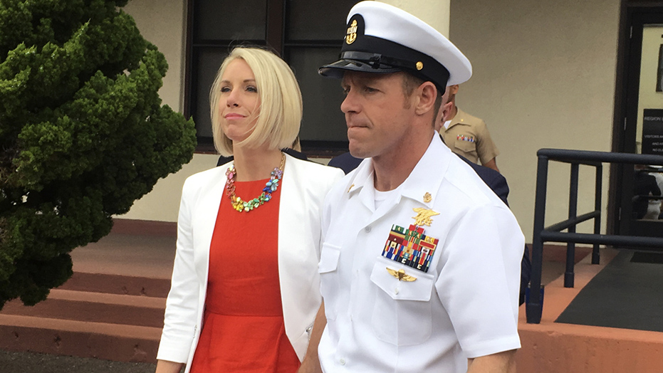Westlake Legal Group eddie-gallagher Navy upholds sentence reducing rank of Navy SEAL Eddie Gallagher for posing with corpse Frank Miles fox-news/us/military/navy fox-news/us/military/military-trials fox news fnc/us fnc article 33a3aad6-c563-530f-8d18-b2320a8b0fb2