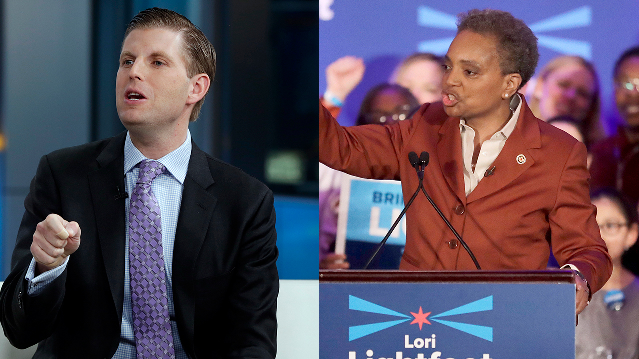 Westlake Legal Group eric-trump-lori-lightfoot-sbs-thumb Spit attack on Eric Trump 'repugnant,' Chicago's Dem mayor says in call for civility Lukas Mikelionis fox-news/us/environment/cities fox-news/politics/state-and-local fox-news/politics/executive/first-family fox news fnc/politics fnc article 56a17e60-6a50-51e6-aaa8-8dc6f14f8e5b