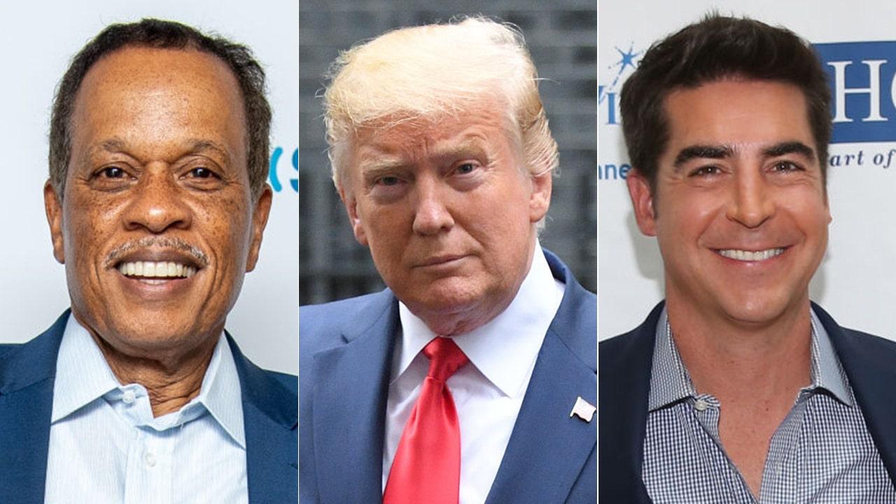 Westlake Legal Group jesse-watters-juna-trump Jesse Watters and Juan Williams disagree on Trump's 'dirt' comments Victor Garcia fox-news/topic/fox-news-flash fox-news/shows/the-five fox-news/person/donald-trump fox-news/entertainment/media fox news fnc/politics fnc article a864db9f-9e47-56c8-b166-b77a16ca8163