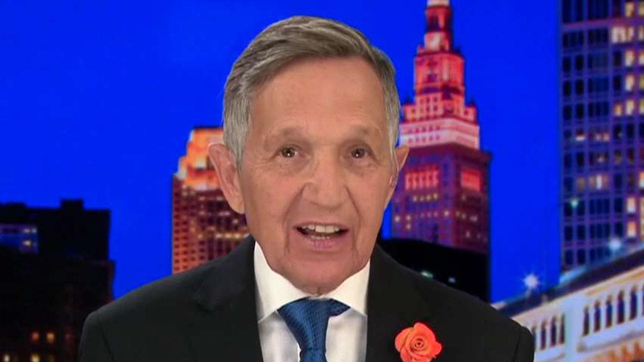Westlake Legal Group kucinichb Dennis Kucinich says Harris-Biden exchange bad for Democrats: 'You divide, Trump conquers' fox-news/topic/fox-news-flash fox-news/shows/ingraham-angle fox-news/politics/elections/republicans fox-news/politics/elections/democrats fox-news/politics/2020-presidential-election fox-news/person/kamala-harris fox-news/person/joe-biden fox-news/entertainment/media fox news fnc/politics fnc Charles Creitz article 46b056a1-2060-5516-b8db-396339b64e91