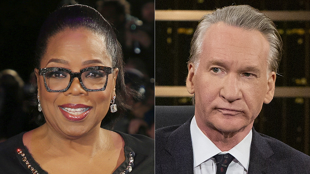 Westlake Legal Group oprah-winnfrey-bill-maher-AP-HBO Bill Maher claims Oprah would be only 'sure' bet for beating Trump in 2020 Sam Dorman fox-news/politics/2020-presidential-election fox-news/entertainment/media fox-news/entertainment fox news fnc/entertainment fnc article 402c4199-6a47-5236-ab62-4134c3275d5a