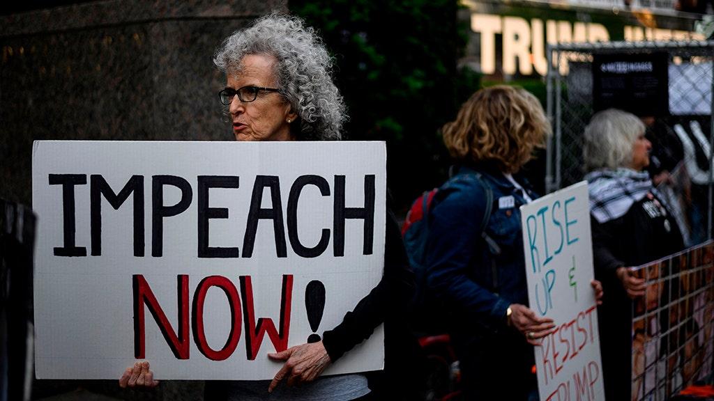 trump protest Getty