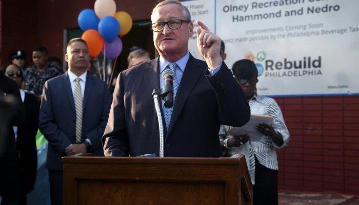 Philadelphia mayor raises eyebrows with Trump comment