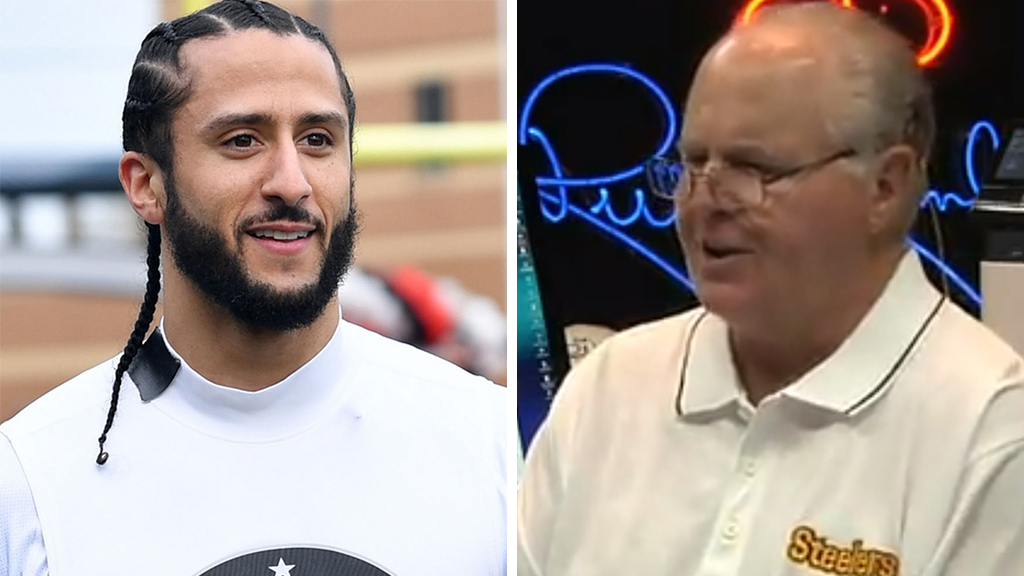 Westlake Legal Group 6ad170dd-Kaepernick-Limbaugh_Getty_FOX Rush Limbaugh: Left 'scared out of their wits' about Trump July 4 parade, Kaepernick 'fooled everybody' Victor Garcia fox-news/person/donald-trump fox-news/person/colin-kaepernick fox-news/entertainment/media fox news fnc/politics fnc b741dce8-a080-56b8-8953-9f254fa3fab1 article