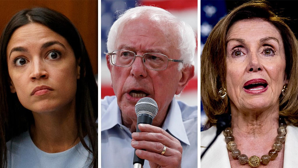 Westlake Legal Group AOC-Bernie-Pelosi_AP Bernie Sanders seemingly dips toe into Democrats' feud, tells young people to embrace progressive 'power' Liam Quinn fox-news/politics/elections/democratic-convention fox-news/politics/2020-presidential-election fox-news/person/nancy-pelosi fox-news/person/bernie-sanders fox-news/person/alexandria-ocasio-cortez fox-news/entertainment/media fox news fnc/politics fnc article 3f9ce1da-096f-5bad-a731-7c0ee7e139a9