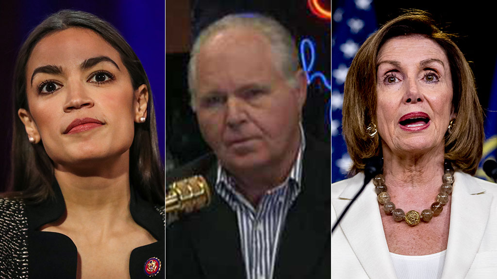 Rush Limbaugh: Here's the real story of Dems' behavior and it's not AOC and Pelosi 1