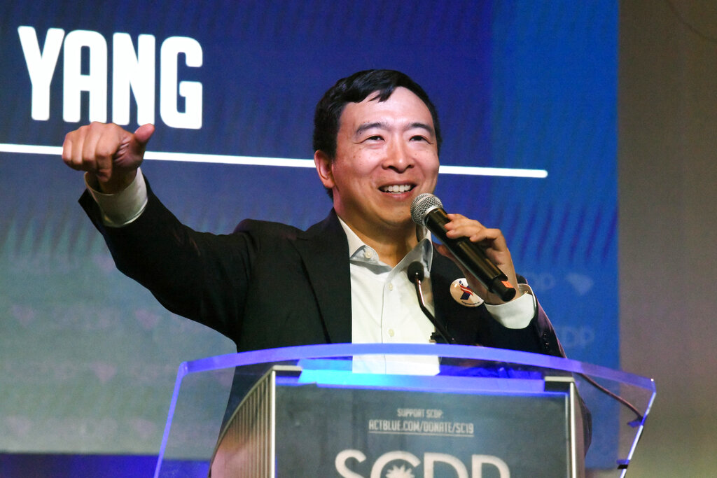 Westlake Legal Group AP19173684995969 Andrew Yang vows mass pardon to all imprisoned for nonviolent marijuana offenses fox-news/politics/elections/democrats fox-news/politics/2020-presidential-election fox news fnc/politics fnc fa79548c-6096-5445-a5fc-65162e4eb932 article Alex Pappas