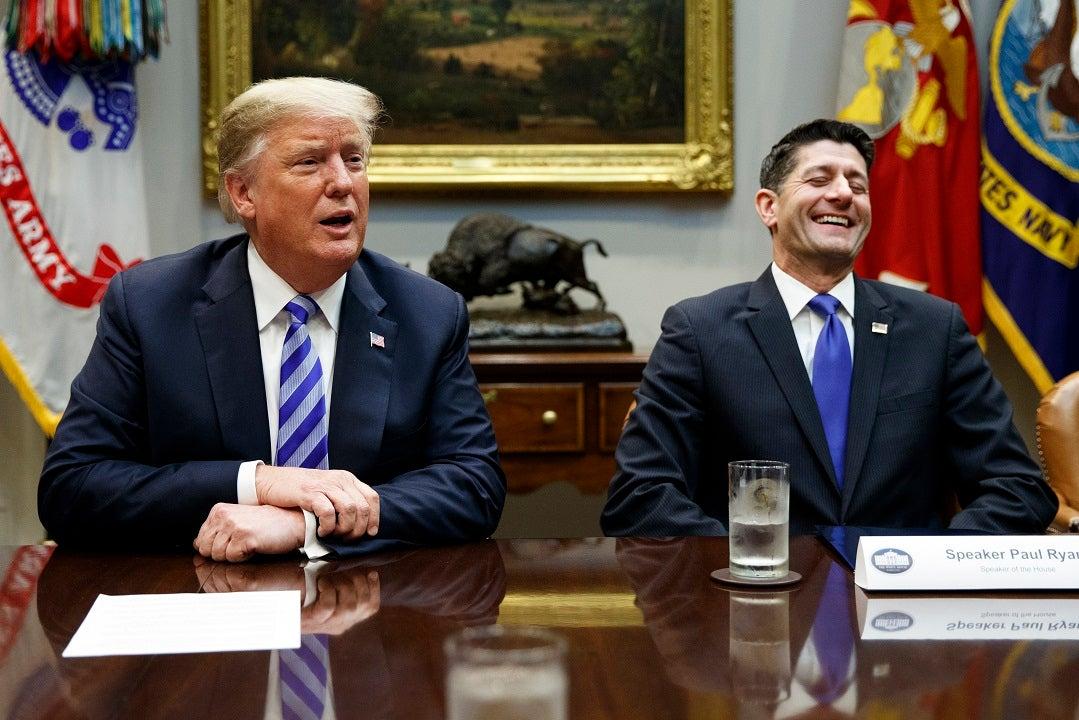 Westlake Legal Group AP19193483734807 Trump blasts Paul Ryan as 'weak, ineffective & stupid' in fresh attack on ex-Speaker Louis Casiano fox-news/politics/house-of-representatives/republicans fox-news/politics/house-of-representatives/leadership fox-news/person/kevin-mccarthy fox-news/person/donald-trump fox news fnc/politics fnc article 448140ab-004c-51f2-bac3-4558bcb76c4f