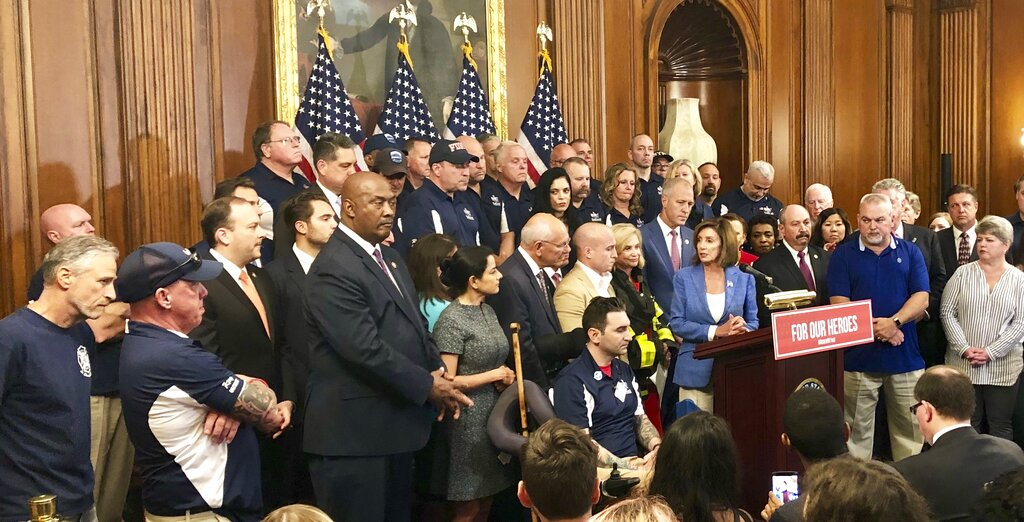 Westlake Legal Group AP19193627177978 9/11's first responders say House approval of victims' funding bill is 'step in the right direction' Vandana Rambaran fox-news/us/terror/september-11 fox-news/politics/elections/house-of-representatives fox-news/politics fox news fnc/politics fnc article 9fc4ddb2-f31f-5b9b-b146-836ef04a0e9b