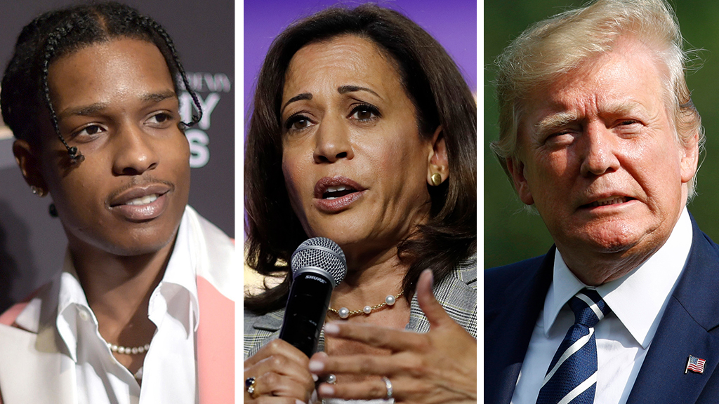 Westlake Legal Group ASAP-Harris-Trump_AP Kamala Harris disses Trump for 'misuse of power' in rapper's case Joseph Wulfsohn fox-news/politics/2020-presidential-election fox-news/person/kanye-west fox-news/person/kamala-harris fox-news/person/donald-trump fox-news/media fox-news/entertainment/kardashians fox-news/entertainment/genres/hip-hop-rap fox news fnc/entertainment fnc f12f0e1b-1452-5311-9cce-c670bb31922a article