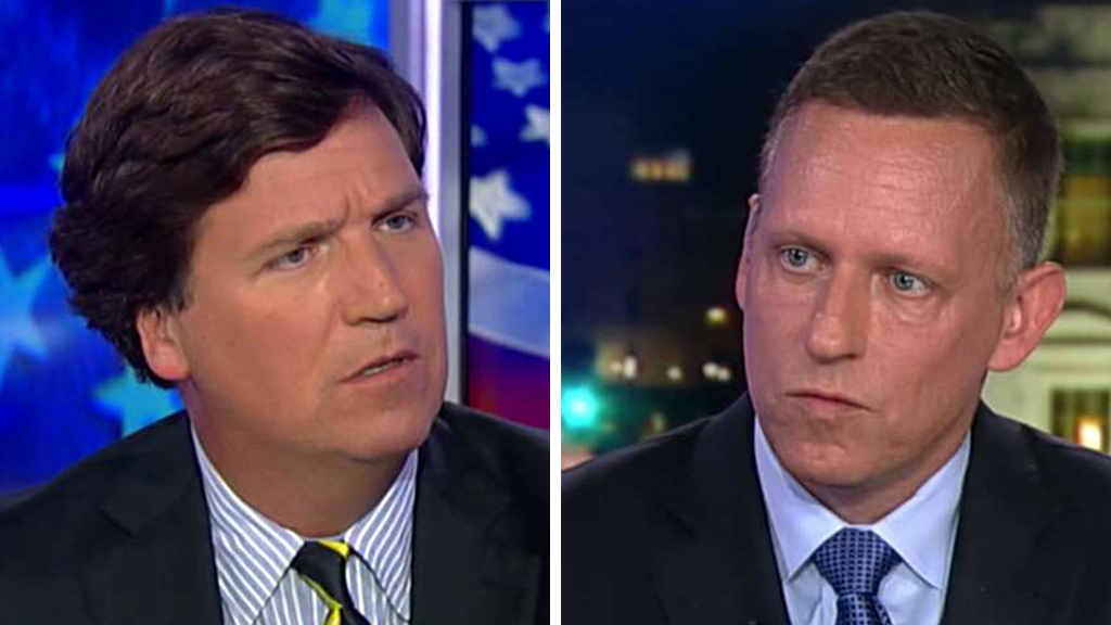 Westlake Legal Group Carlson-Thiel_FOX Peter Thiel tells Tucker Carlson which 2020 Dem has him 'most scared' fox-news/world/world-regions/china fox-news/us/economy fox-news/topic/fox-news-flash fox-news/tech fox-news/politics/2020-presidential-election fox-news/person/elizabeth-warren fox-news/entertainment/media fox news fnc/politics fnc Charles Creitz article 6b9df05f-b846-57f4-97e6-e404f2615947