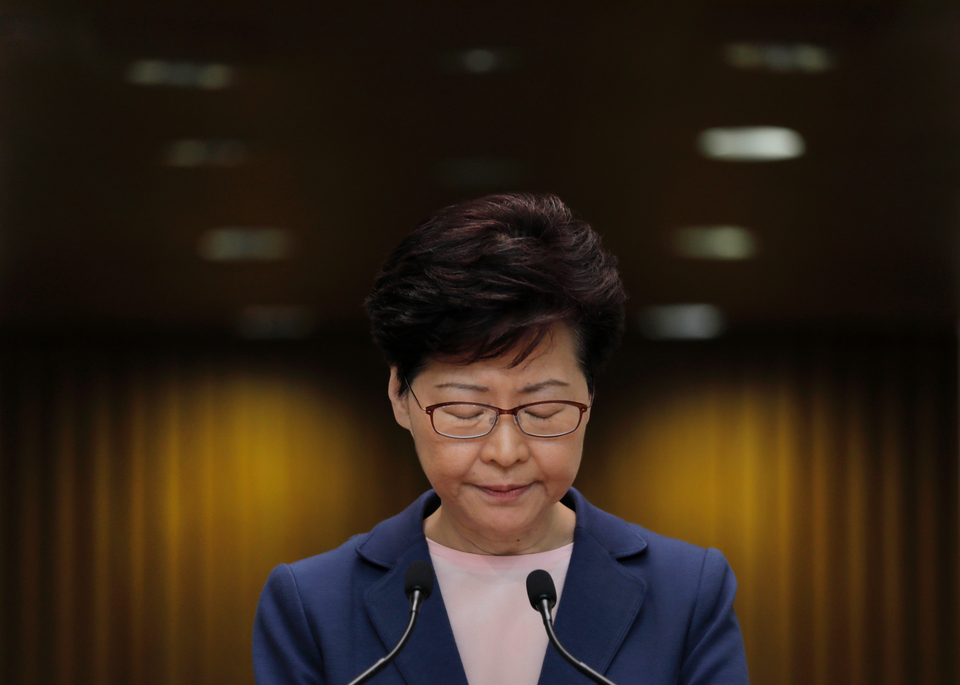 Hong Kong's Lam says Chinese military could step in if uprising worsens