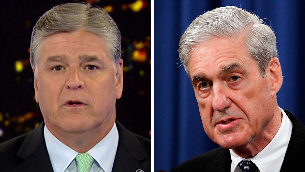 Westlake Legal Group Hannity-Mueller_FOX-AP Hannity: The Dems are finally starting to listen to me fox-news/topic/fox-news-flash fox-news/shows/hannity fox-news/politics/house-of-representatives/democrats fox-news/politics/house-of-representatives fox-news/person/robert-mueller fox-news/person/adam-schiff fox-news/news-events/russia-investigation fox-news/entertainment/media fox news fnc/politics fnc Charles Creitz article 48dace96-2d61-58bd-9e7f-ffddaf4fb65e