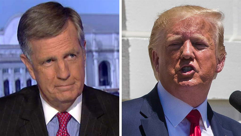 Westlake Legal Group Hume-Trump_FOX-AP Brit Hume: Trump's attacks on 'the squad' run risk uniting a fractured Democratic Party fox-news/topic/fox-news-flash fox-news/shows/special-report fox-news/politics/house-of-representatives/democrats fox-news/politics/house-of-representatives fox-news/politics/elections/democrats fox-news/person/rashida-tlaib fox-news/person/ilhan-omar fox-news/person/donald-trump fox-news/person/alexandria-ocasio-cortez fox-news/entertainment/media fox news fnc/politics fnc Charles Creitz article a1fa1b44-9b5d-54bd-b1b1-f6675d87fd0c
