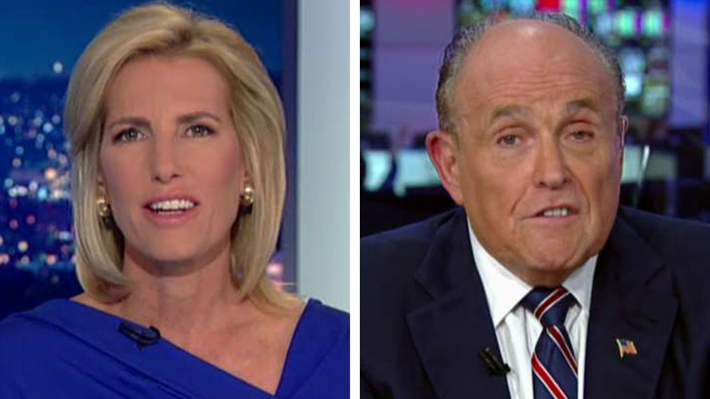 Westlake Legal Group Ingraham-Guliani_FOX Rudy Giuliani: If Biden wasn't prepared for Harris, will he be ready for Kim Jong Un, Putin or China? fox-news/world/conflicts fox-news/topic/fox-news-flash fox-news/politics/2020-presidential-election fox-news/person/kamala-harris fox-news/person/joe-biden fox-news/person/donald-trump fox-news/entertainment/media fox news fnc/politics fnc Charles Creitz article 2704fcde-f0cb-5bf5-a196-c04b1e052012