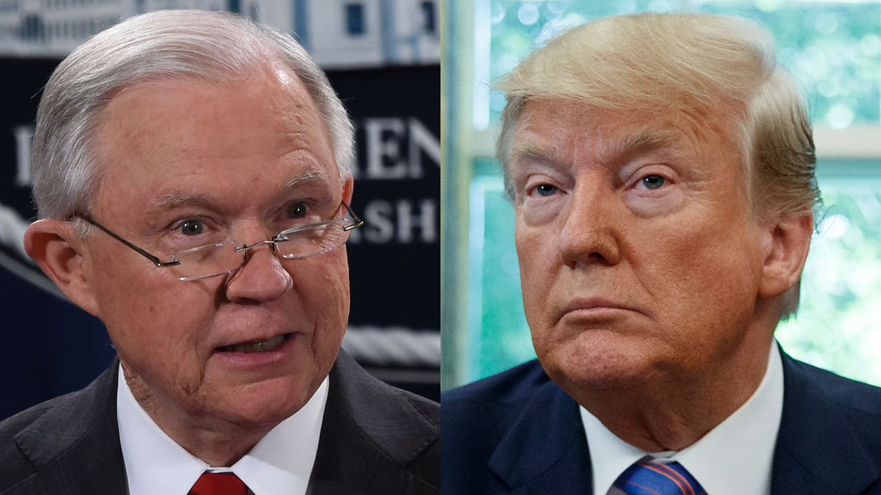Trump 'not on board' with Jeff Sessions running for Alabama Senate seat: report 1