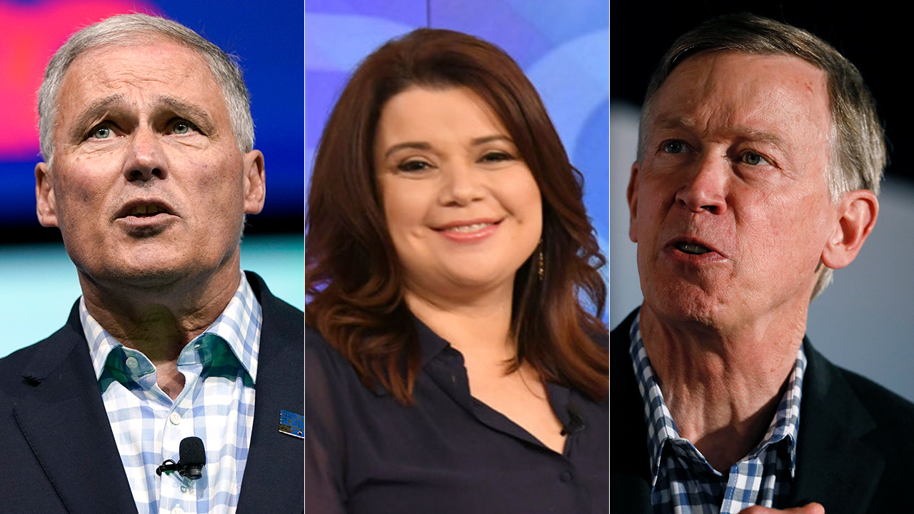 Westlake Legal Group John-Hickenlooper-split 'The View' co-host awkwardly confuses John Hickenlooper with Jay Inslee during interview Joseph Wulfsohn fox-news/politics/2020-presidential-election fox-news/media fox-news/entertainment/the-view fox-news/entertainment/media fox news fnc/entertainment fnc df1ccde0-07fb-56ab-8ae1-cb646fa86ba6 article