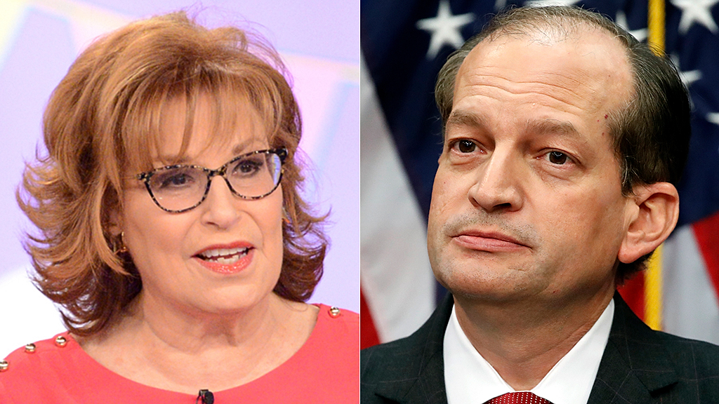 Westlake Legal Group Joy-Behar-Alex-Acosta-ABC-AP Joy Behar says Alex Acosta can now defend R. Kelly: 'He has the skill set' Sam Dorman fox-news/us/crime/sex-crimes fox-news/politics/executive/cabinet fox-news/person/joy-behar fox-news/entertainment/the-view fox-news/entertainment/media fox news fnc/entertainment fnc d0758069-f609-5c33-8120-3b73ae34eaac article