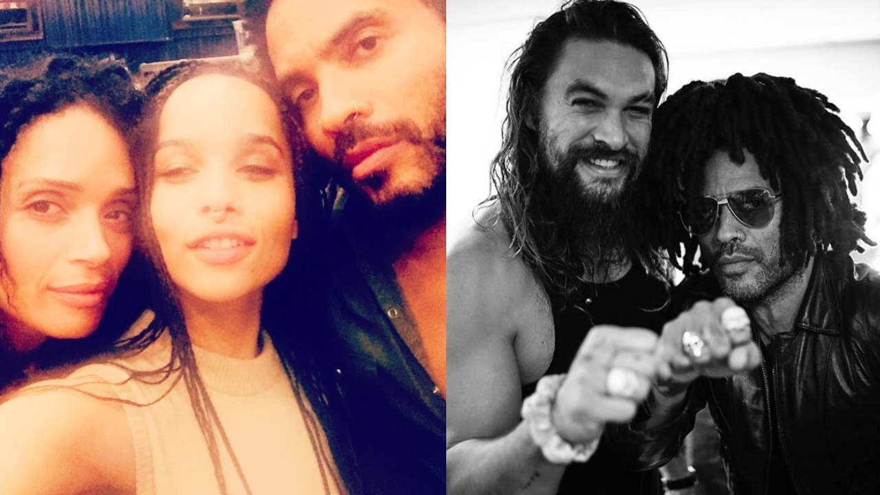 Lenny Kravitz says ex-wife's husband Jason Momoa is 'like a brother,' praises 'beautiful' blended family